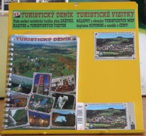 Turistický deník a vizitka