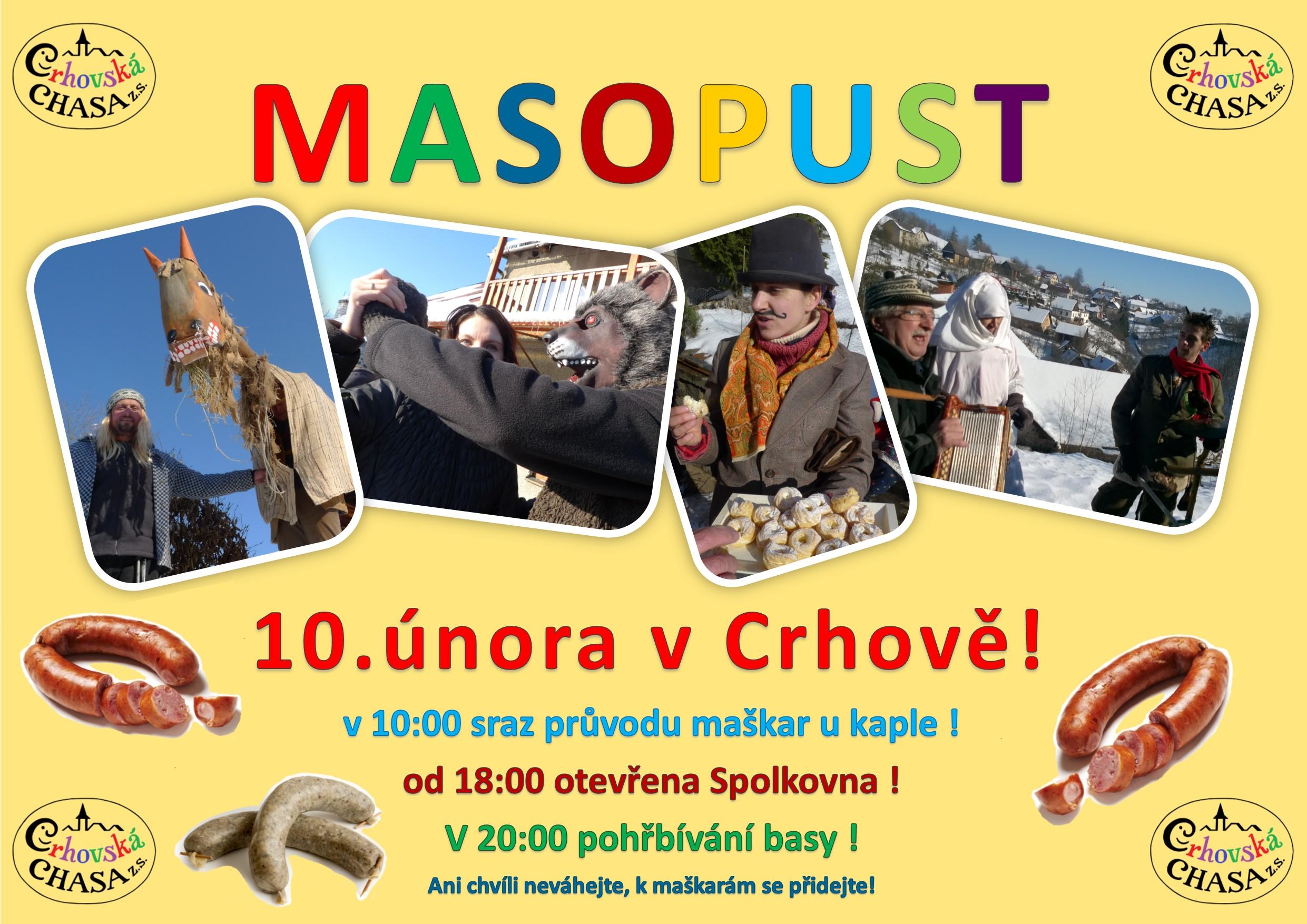 Masopust Crhov 2018