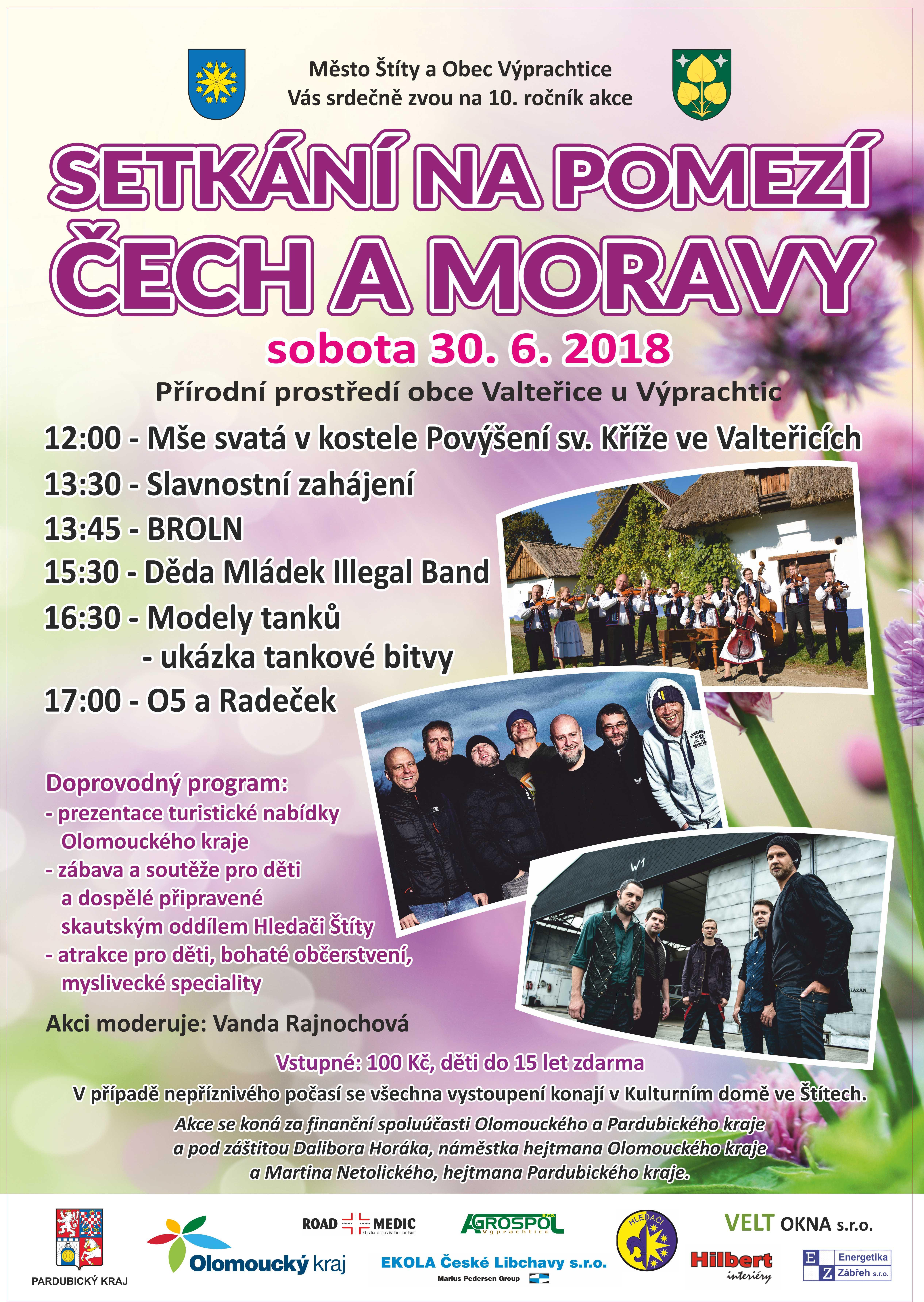 Plakát Valteřice 2018