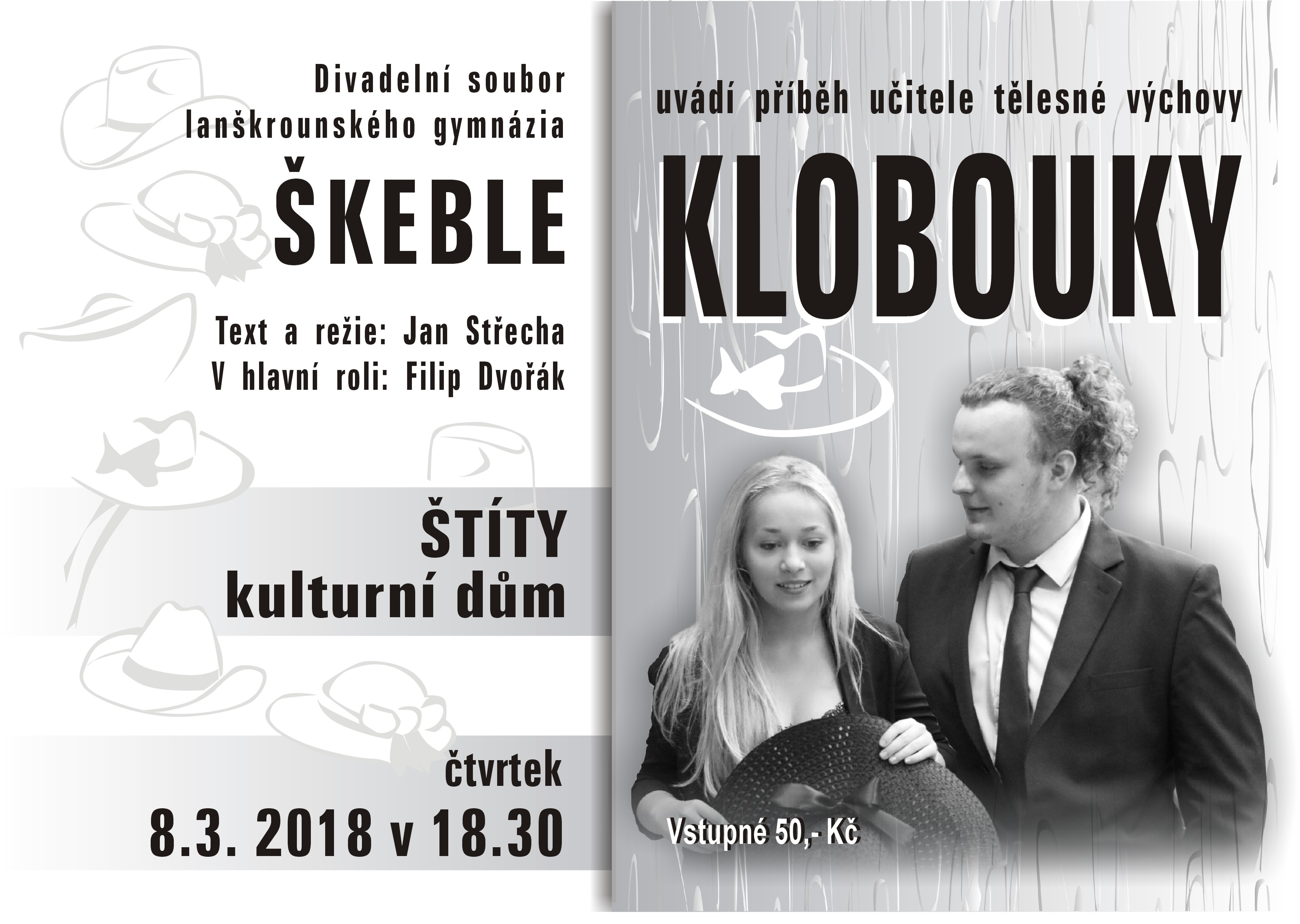 Klobouky-plakat Stity