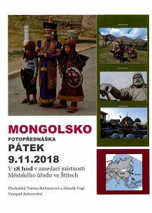 Přednáška Mongolsko