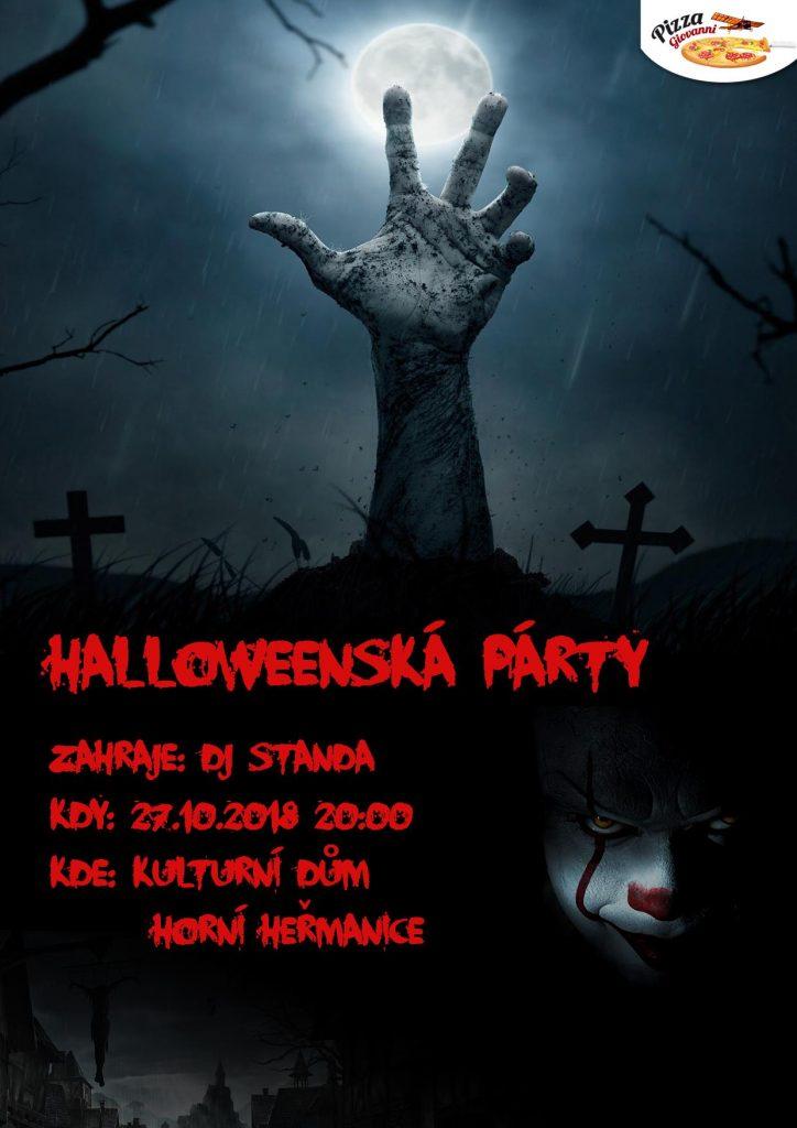 halloweenská párty HH