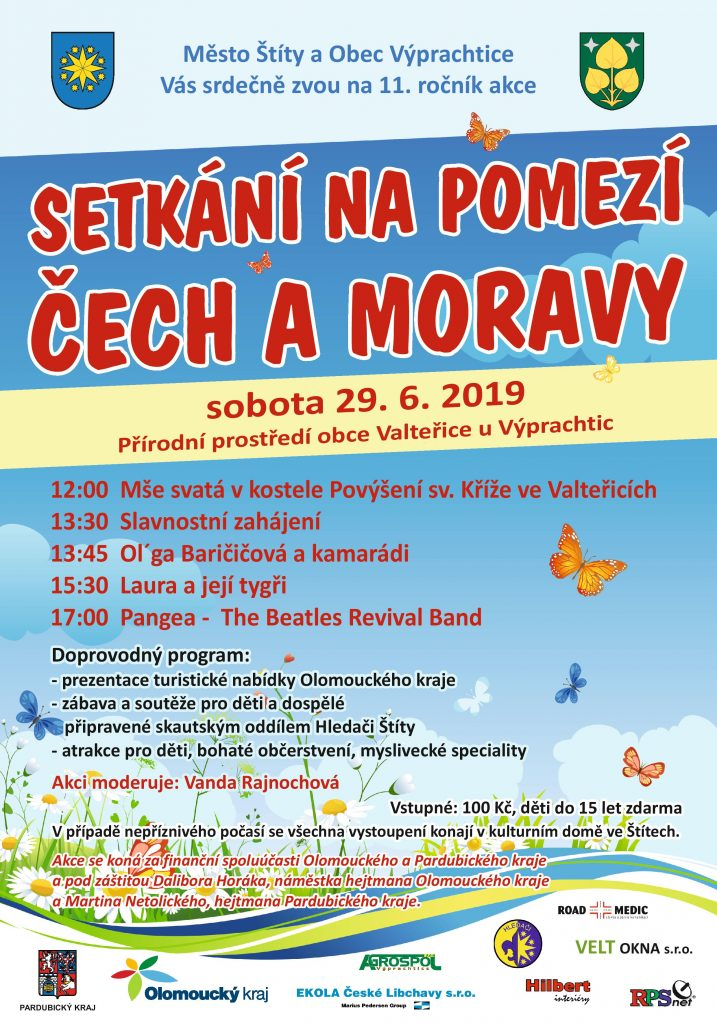 Setkání na pomezí Čech a Moravy plakát